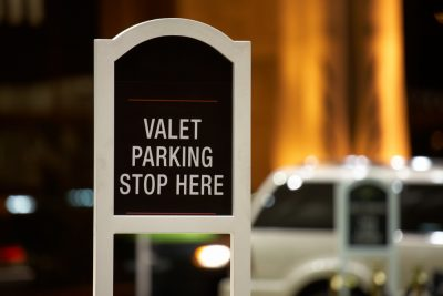 Valet Parking at The Palace Pier